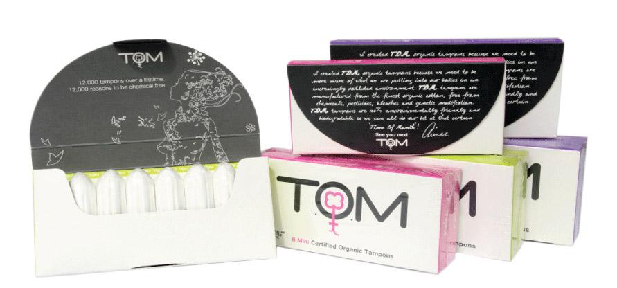 T.O.M organic tampons