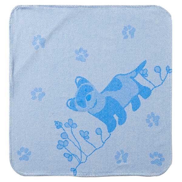 Breganwood Organic Hooded Towel - Blue