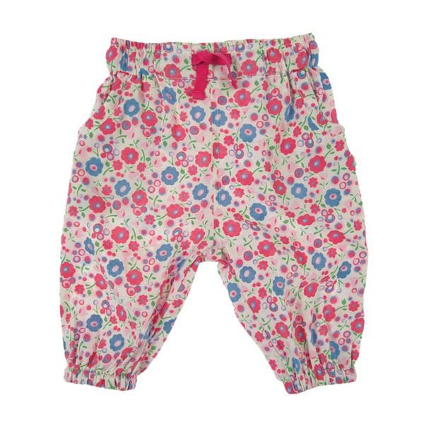 Organic Cotton Pants - Honeysuckle