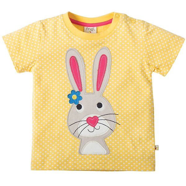 Frugi Organic Rabbit T-Shirt