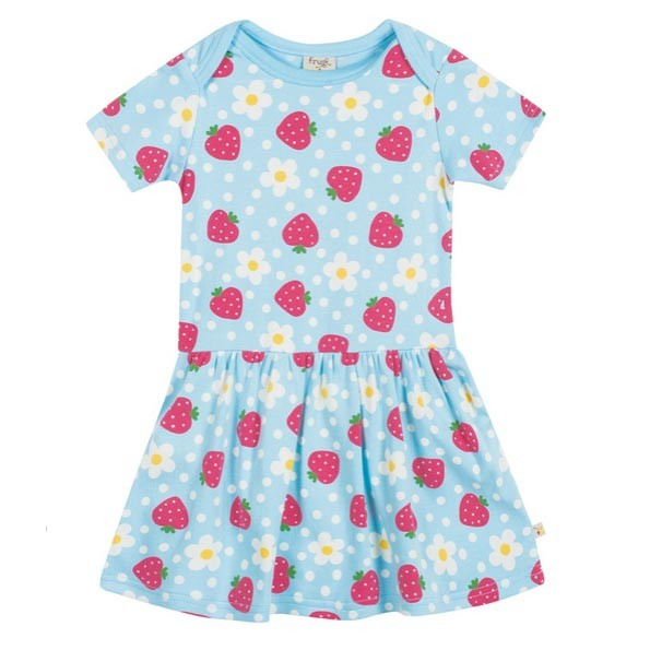 Organic Strawberry Dress