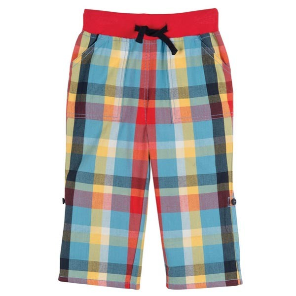 Frugi Organic Cotton Roll-up Pants