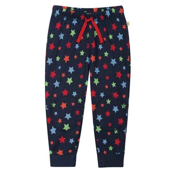 Organic Knee Patch Trackies (Rainbow Star)
