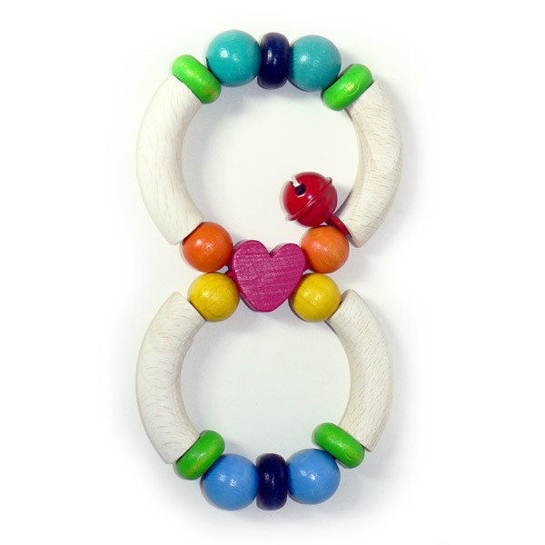 Hess Spielzeug Heart Rattle