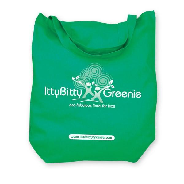 Itty Bitty Greenie Tote Bag