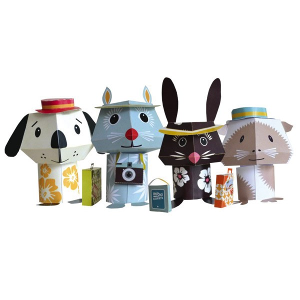 Recycled Paper Animals – Jet Set Pets