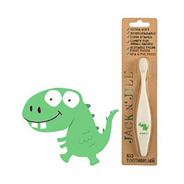 Jack N' Jill Biodegradable Toothbrush - Dinosaur