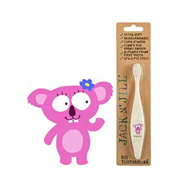 Jack N' Jill Kids Biodegradable Toothbrush - Koala