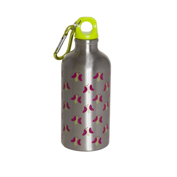 Stainless Steel Water Bottle 500 ml (Butterfly)