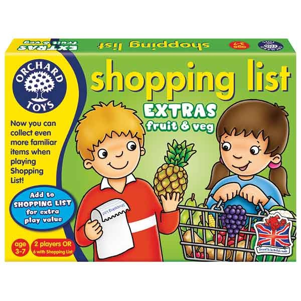 Orchard Toys Shopping List Booster