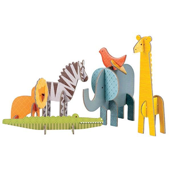 Petit Collage Pop-out Safari