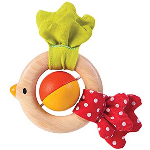 Plan Toys Bird Rattle