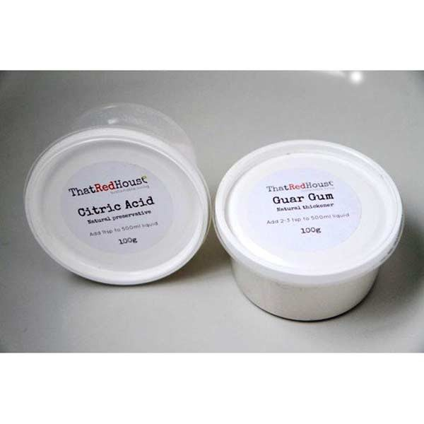 Citric Acid & Guar Gum