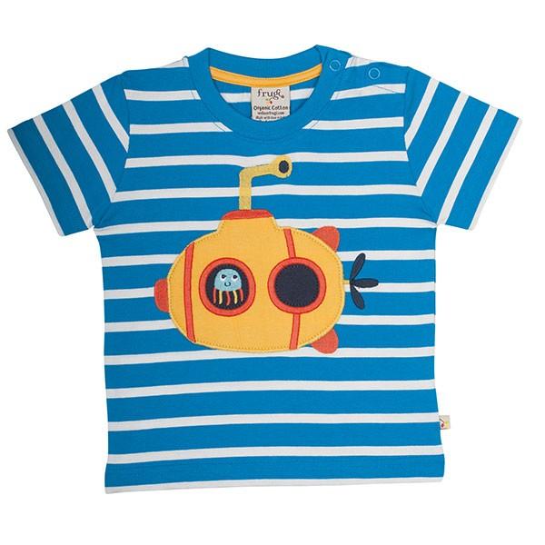 Frugi Organic T-Shirt Submarine