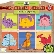 Green Start Puzzle - Little Dinosaurs