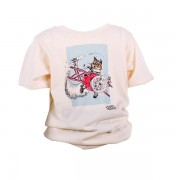 Burton the Brave (Flying) Organic T-shirt