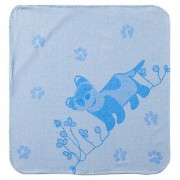 Breganwood Organic Hooded Towel - Blue