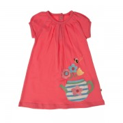 Baby Lucy Dress - Coral