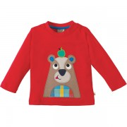 Frugi Organic Discovery Bear T-Shirt