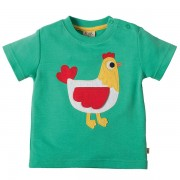Frugi Organic Hen T-Shirt