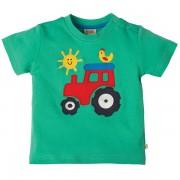 Frugi Organic Little Tractor T-Shirt