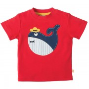 Frugi Organic Whale T-Shirt