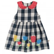 Frugi Little Polly Party Dress (gingham)