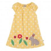Frugi Little Lola Dress (Yellow)