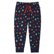Organic Knee Patch Trackies (Rainbow Star)