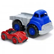 Green Toys Flatbed Truck and Car
