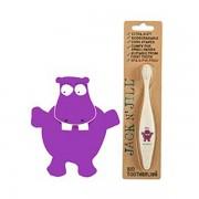 Jack N' Jill Biodegradable Toothbrush - Hippo