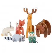 Petitcollage Woodland Animals