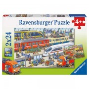 Ravensburger Busy Train Station Puzzle
