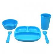 Re-Play Dinnerset - Blue