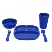 Re-Play Dinnerset - Navy