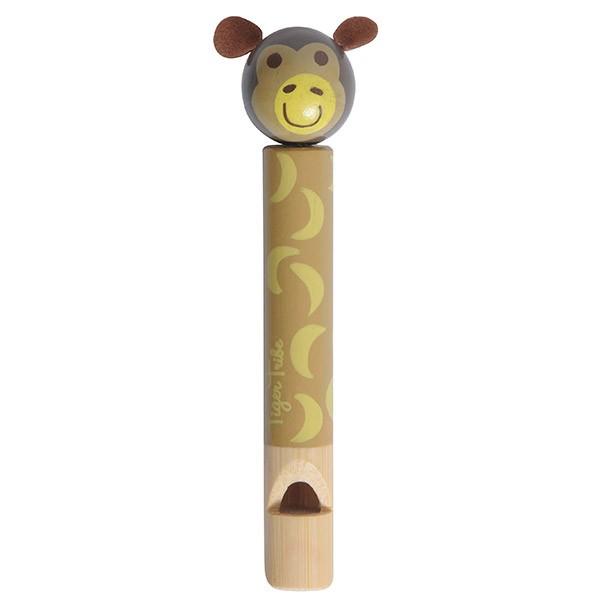 Bamboo Animal Whistle - Monkey