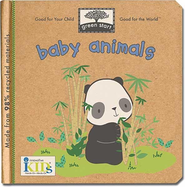 Green Start - Baby Animals Book