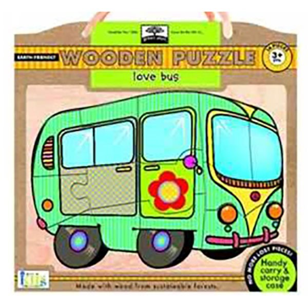 Green Start Puzzle - Love Bus