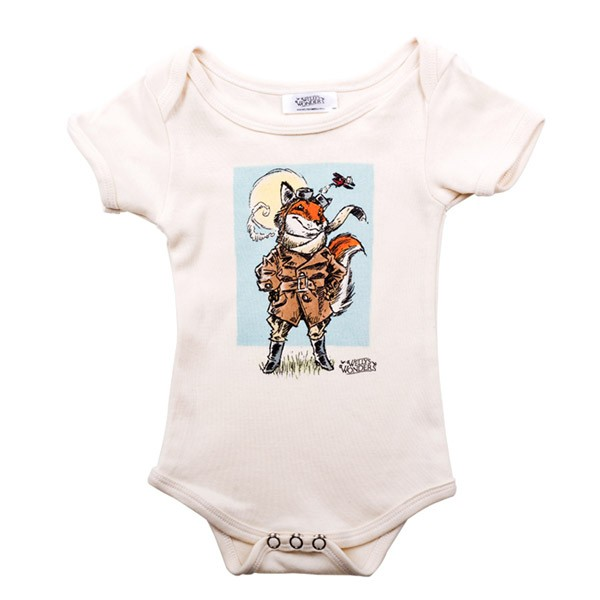 Burton the Brave (Portrait) Onesie