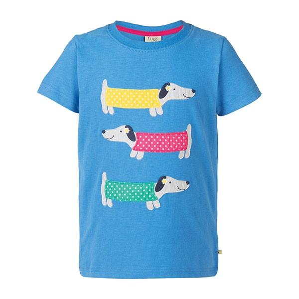Frugi Organic Sausage Dog T-Shirt