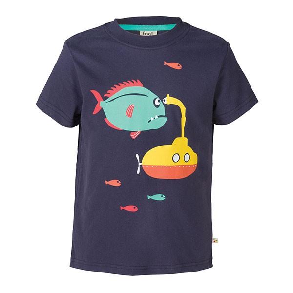 Frugi Organic Atlantic Sub T-Shirt