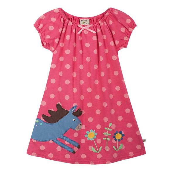Frugi Little Jess Dress (pink)