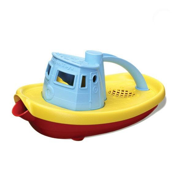 Green Toys Tugboat (Blue)