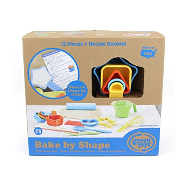 Green Toys Bake By Shape Set