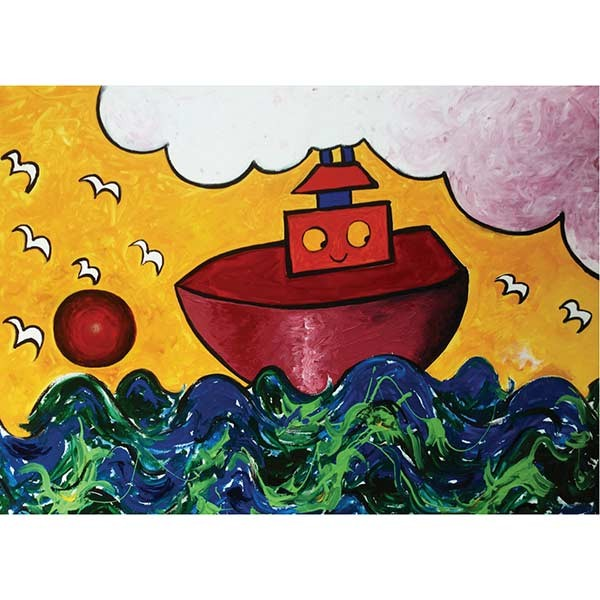 Granny Liz Card - William's Boat
