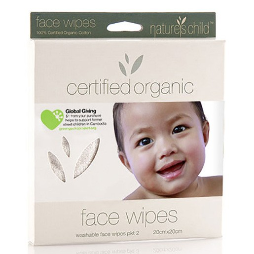 Organic Cotton Face Wipes