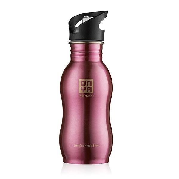 Onya 500ml Stainless Bottle (Pink)