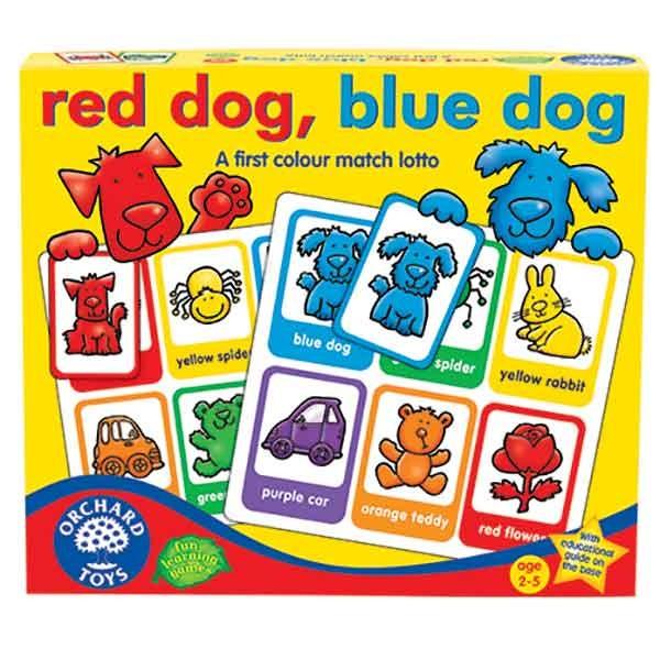 Orchard Toys Red Dog Blue Dog