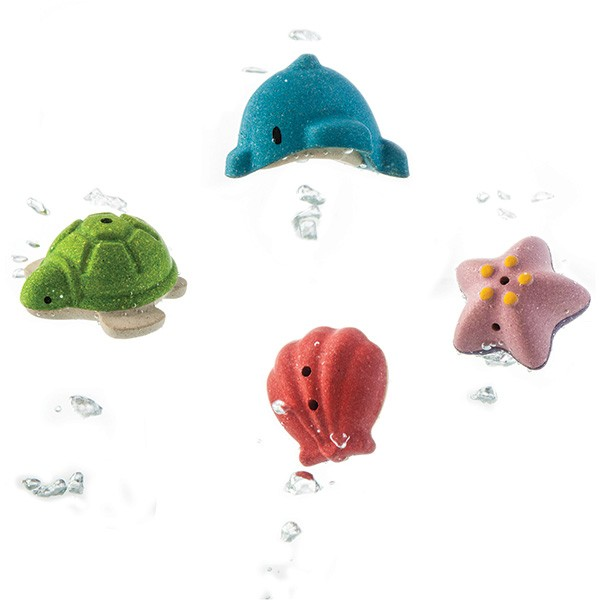Plan Toys Sea Life Play Set
