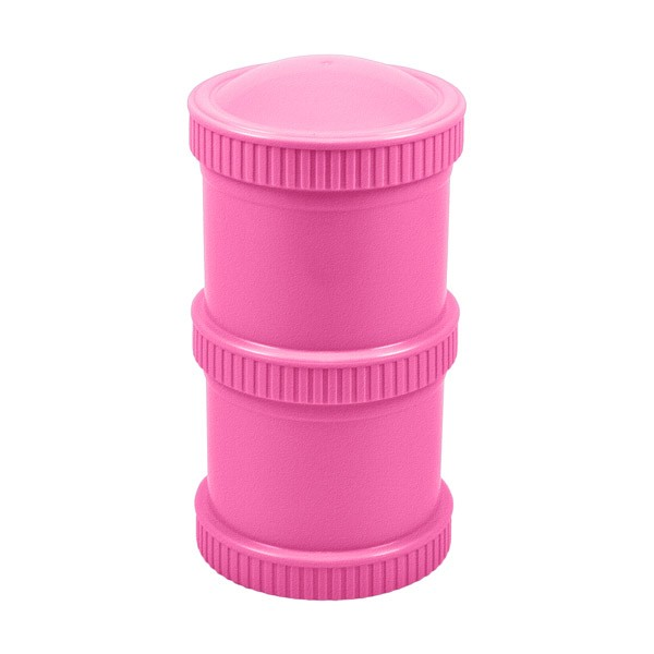 Re-Play Snack Stacks (2-pack) Bright Pink